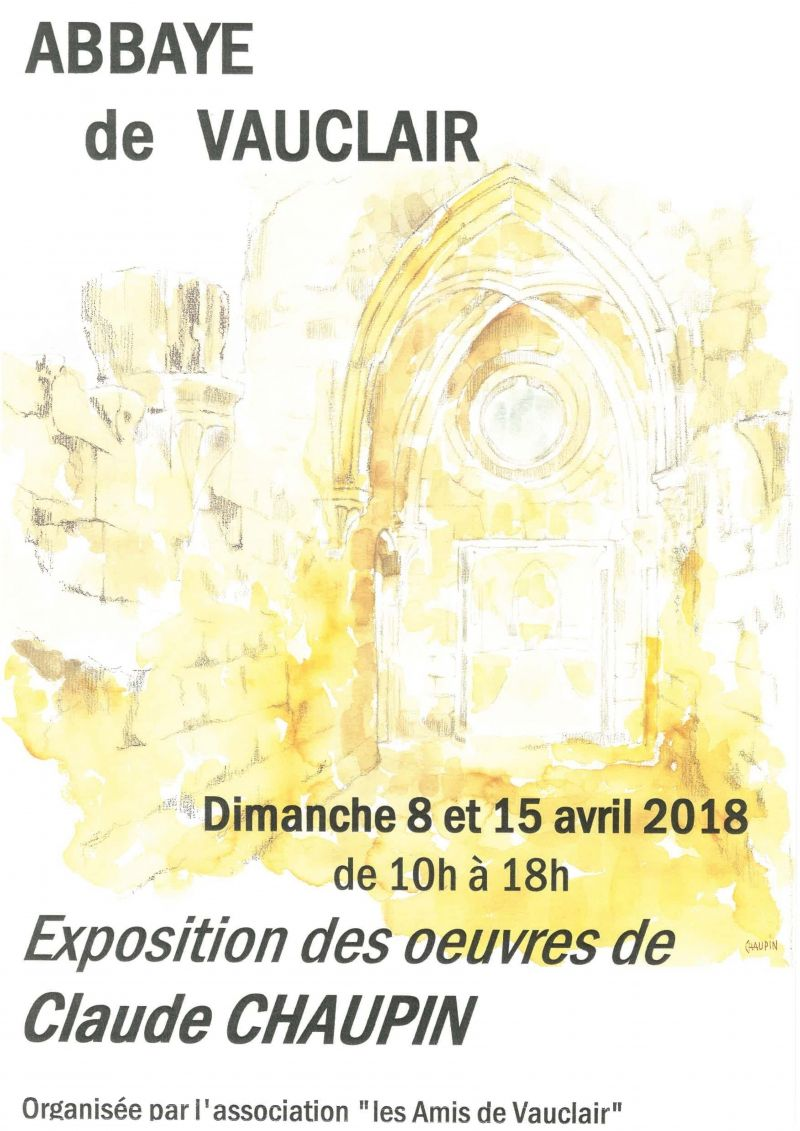 EXPO VAUCLAIR affiche 2 ps
